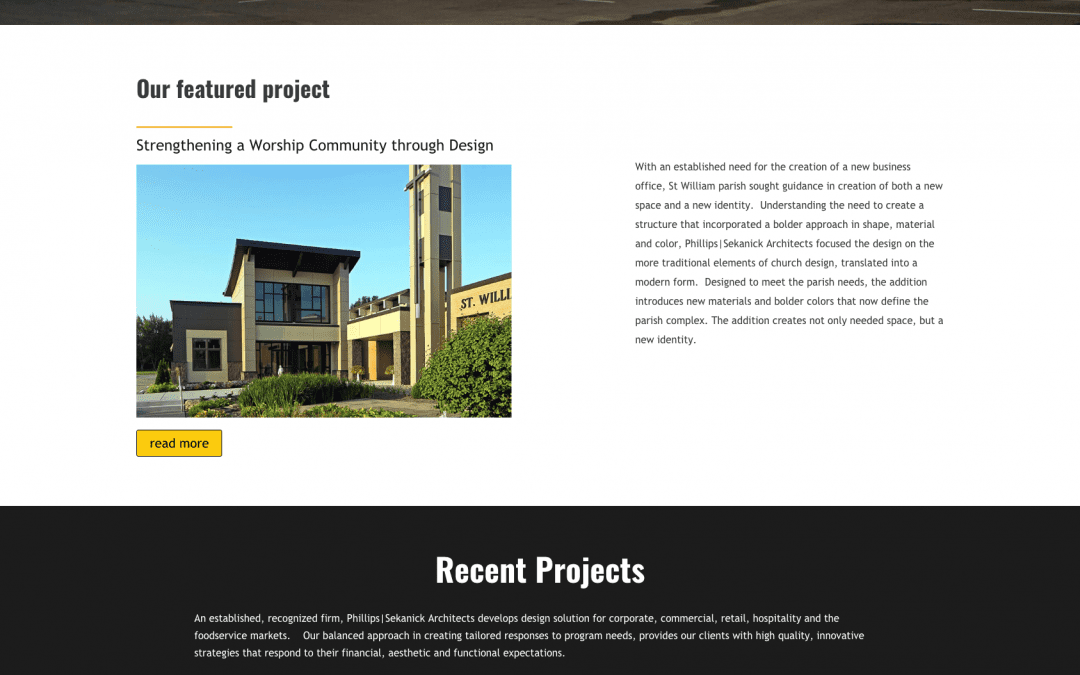 Phillips|Sekanick launches new web presence